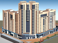 Многоэтажный жилой комплекс